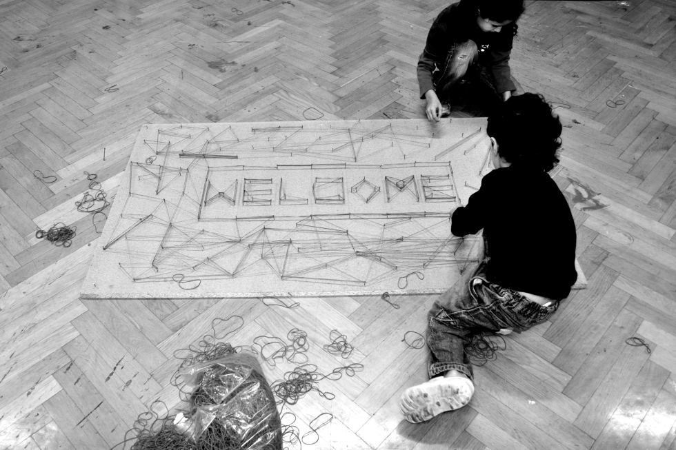 Welcome B&W